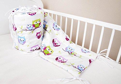 bettumrandung nest kopfschutz nestchen 420x30cm 360x30cm 180 30 cm bettnestchen baby. Black Bedroom Furniture Sets. Home Design Ideas