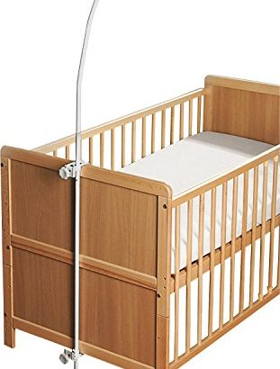 alvi himmelstange f r baby kinderbett meibuin. Black Bedroom Furniture Sets. Home Design Ideas