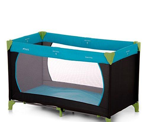 hauck 604489 reisebett dream n play 60 120 cm water blue meibuin. Black Bedroom Furniture Sets. Home Design Ideas