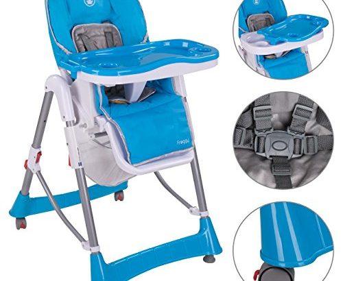 froggy kinderhochstuhl bhc01 zusammenklappbar in blau meibuin. Black Bedroom Furniture Sets. Home Design Ideas