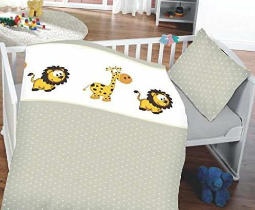 kinderbettw sche babybettw sche 100 baumwolle 40 60 cm 100 135 cm zoo meibuin. Black Bedroom Furniture Sets. Home Design Ideas