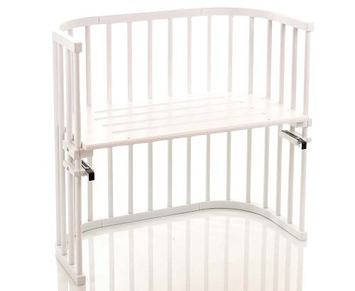 Babybay original beistellbett weiß lackiert u2013 meibuin