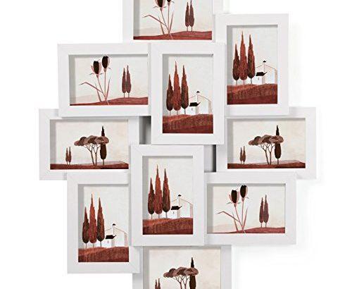 songmics bilderrahmen collage f r 10 fotos je 10 x 15 cm 4. Black Bedroom Furniture Sets. Home Design Ideas