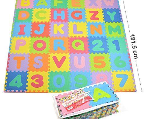 puzzlematte spielmatte kinderteppich lernteppich f r kinder 36 einzelne matten 30 x30 x1 cm. Black Bedroom Furniture Sets. Home Design Ideas