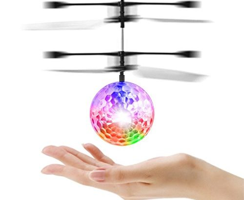 rc fliegender ball mit led leuchtung disco musik spielzeug rc infrarot induktionshubschrauber. Black Bedroom Furniture Sets. Home Design Ideas