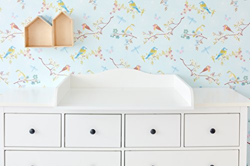 kraftkids wickelaufsatz wei passend f r 160 cm breite hemnes kommode blende meibuin. Black Bedroom Furniture Sets. Home Design Ideas