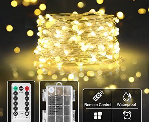sicher batterie lichterkette f r kinderzimmer innen. Black Bedroom Furniture Sets. Home Design Ideas