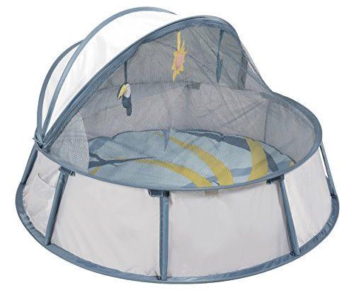 pop up reisebett spielpark f r babys uv schutz 50 weiche matratze inkl moskitonetz 94 x. Black Bedroom Furniture Sets. Home Design Ideas