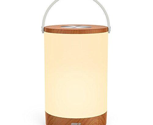 tischlampe led taotronics vintage nachttischlampe mit rgb farbwechsel 256 farbe touch bedienung. Black Bedroom Furniture Sets. Home Design Ideas