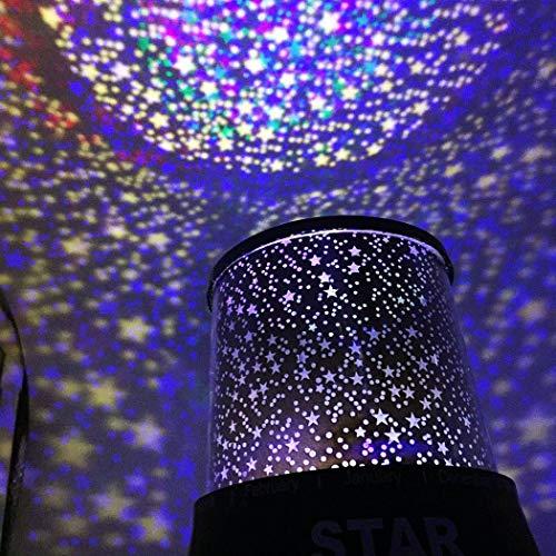 projektor lampe kinderzimmer sternenhimmel baby led nachtlicht kinder schlaf usb rotation bunte. Black Bedroom Furniture Sets. Home Design Ideas