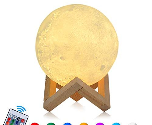 15cm rgb mond lampe led moon nachtlicht dimmbare touch cosansys nachtlampe tragbares mit. Black Bedroom Furniture Sets. Home Design Ideas