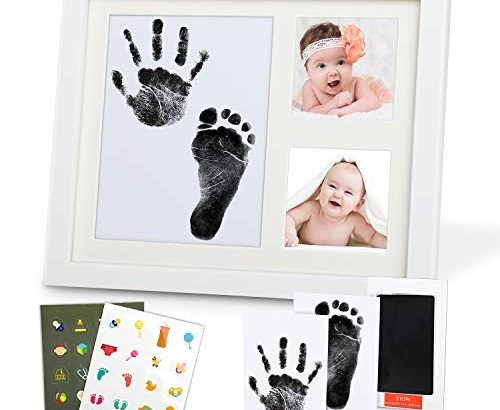 lenbest baby handabdruck und fu abdruck gipsabdruck set bilderrahmen baby abdruck f r. Black Bedroom Furniture Sets. Home Design Ideas